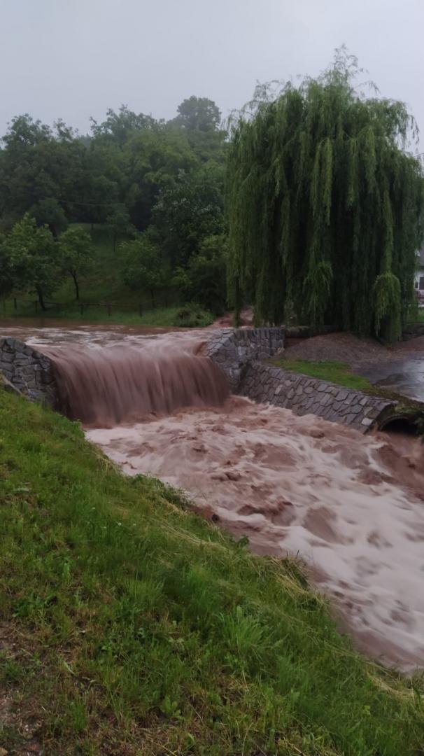 Velká voda 14. 6. 2020